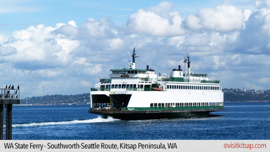 WA State Ferry, Southworth-Seattle Route