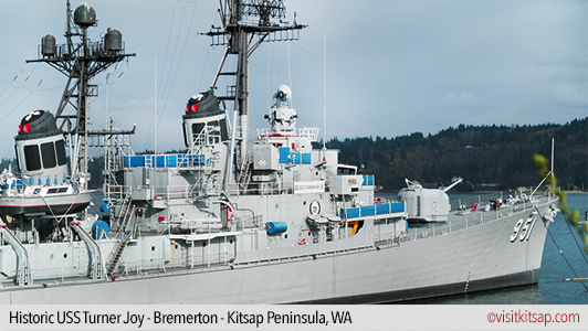 Historic USS Turner Joy, Bremerton