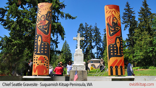 Chief Seattle Gravesite, Suquamish