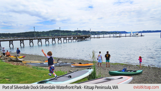 Port of Silverdale Dock, Silverdale Waterfront Park
