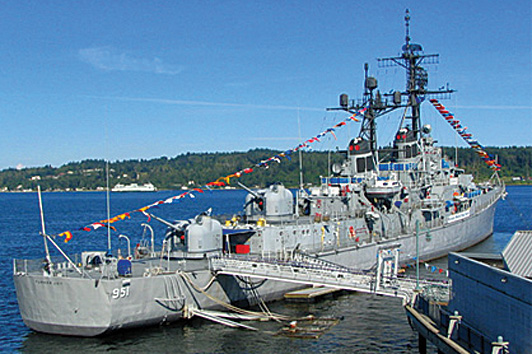 Historic USS Turner Joy