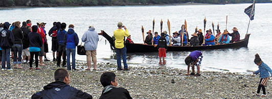 Canoe Journey in the News