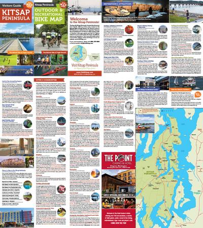 Visitors Guide Outdoor Recreation Bike Map Visit Kitsap Peninsula