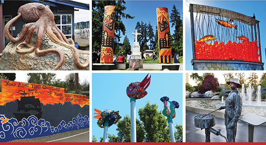 Discover Outdoor Art on the Kitsap Peninsula