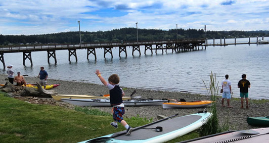 Silverdale Waterfront Park, Playground, Dock & Public Boat Launch
