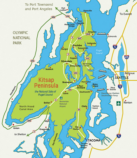 The Kitsap Peninsula Region