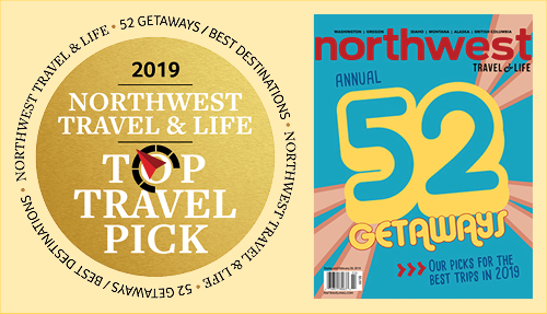 NW Travel & Life Magazine names Kitsap Peninsula a Best Trip Getaway