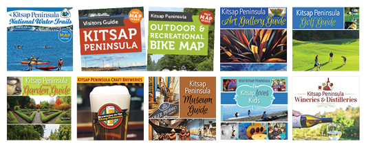Visit Kitsap Family of brochures & guides